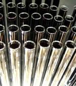 Gold metal tubes