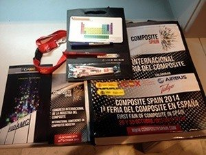 American Elements magnets at the Composite Spain 2014 Conference.