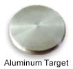 High purity aluminum sputtering target
