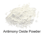 High purity antimony oxide powder