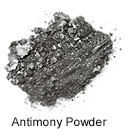 High Purity (99.99999%) Antimony (Sb) Powder