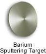 High Purity (99.999%) Barium (Ba)Sputtering Target