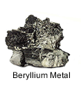 High Purity (99.999%) Beryllium (Be) Metal