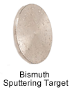 High Purity (99.9999%) Bismuth (Bi) Sputtering Target