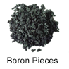 Ultra High Purity (99.999%) Boron Pieces