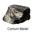 High purity cerium metal
