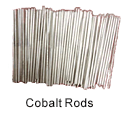 Ultra High Purity (99.999%) Cobalt Rods