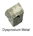 High Purity (99.999%) Dysprosium (Dy) Metal