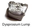 High Purity Dysprosium Lump