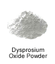 High Purity (99.999%) Dysprosium Oxide (Dy2O3) Powder