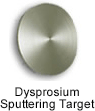 High Purity (99.995%) Dysprosium (Dy) Sputtering Target