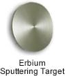 High Purity (99.999%) Erbium (Er) Sputtering Target