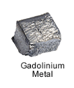 High Purity (99.999%) Gadolinium (Gd) Metal