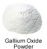High purity gallium oxide powder