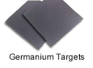 High purity germanium sputtering targets