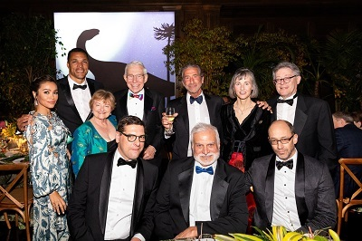 2019 Dinosaur Ball gala at the Los Angeles County Natural History Museum