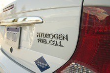 Car powered by hydrogen fuel cell
