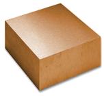 High Purity (99.999%) Copper (Cu) block