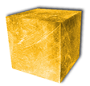 High purity gold cubes
