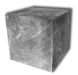 High purity chromium cubes