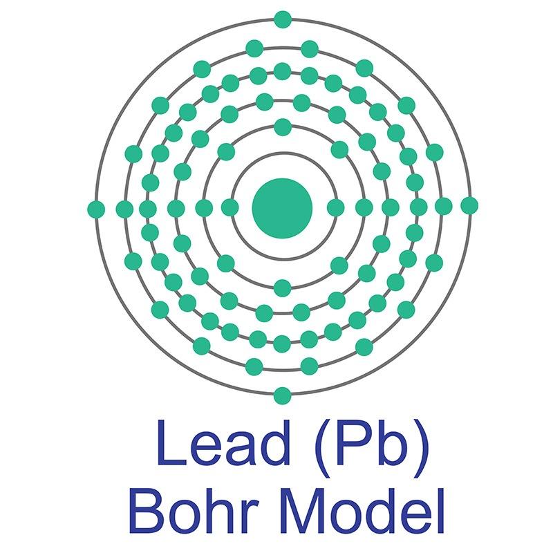 Lead Bohr Model