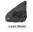 High purity lead metal