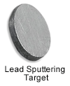 High Purity (99.99999%) Lead (Pb) Sputtering Target