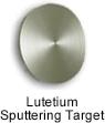 High Purity (99.999%) Lutetium (Lu) Sputtering Target