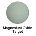 High Purity Magnesium Oxide Sputtering Target
