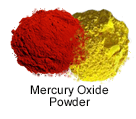 High Purity (99.999%) Mercury Oxide (HgO) Powder