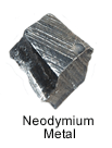 High Purity (99.999%) Neodymium (Nd) Metal