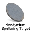 High Purity (99.999%) Neodymium (Nd) Sputtering Target