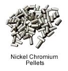 Ultra High Purity (99.999%) Nickel Chromium Pellets