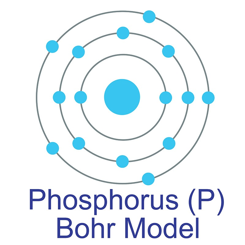 Phosphorus Bohr Model