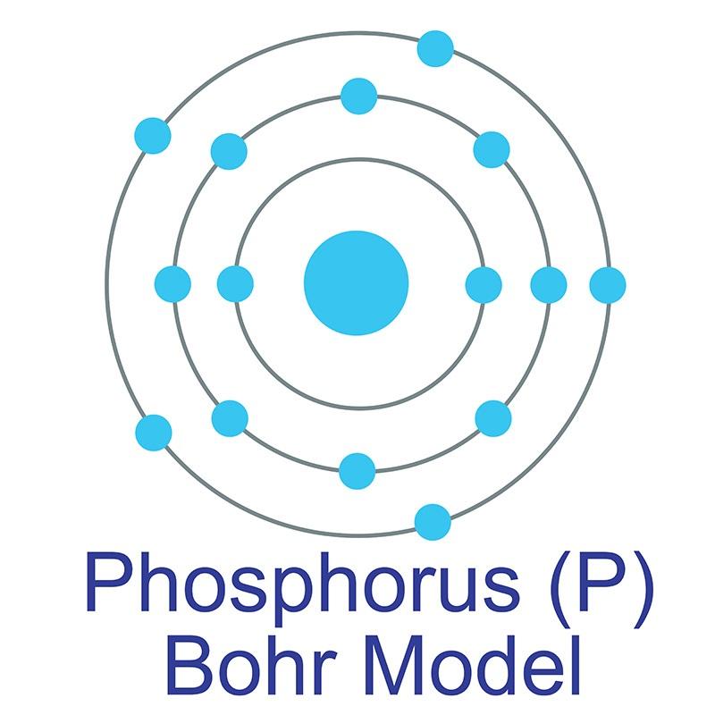 Phosphorus Bohr Model