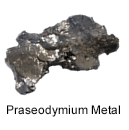 High purity praseodymium metal