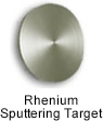High Purity (99.999%) Rhenium (Re) Sputtering Target