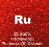 99.999% Ultra High Purity Ruthenium (II) Chloride (RuCl)