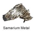 High Purity (99.999%) Samarium (Sm) Metal