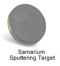 High Purity (99.999%) Samarium (Sm) Sputtering Target