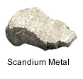 High Purity (99.999%) Scandium (Sc) Metal