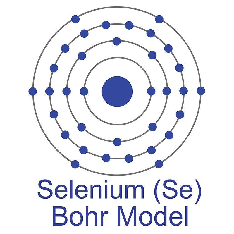 Selenium Bohr Model
