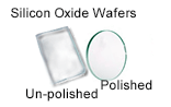 High Purity (99.999%) Silicon Oxide Wafers- Polished & Un-polished