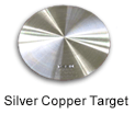 High Purity (99.999%) Silver Copper Sputtering Target