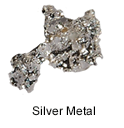 High Purity (99.999%) Silver (Ag) Metal