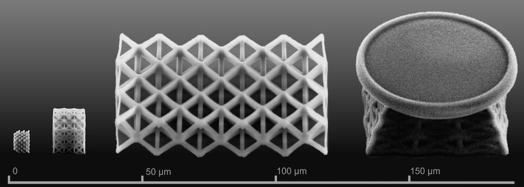 Nanoscale lattices flow from 3D printer