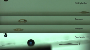 A breakthrough in droplet manipulation