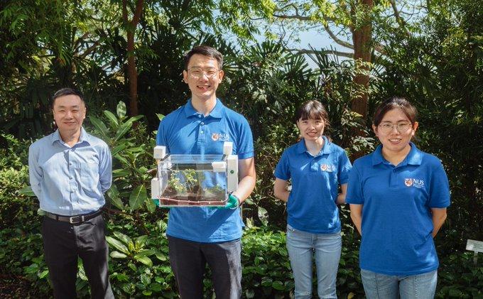 SmartFarm device harvests air moisture for autonomous, self-sustaining urban farming