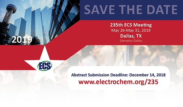 American Elements Sponsors 235th ECS Spring Meeting 2019 Logo