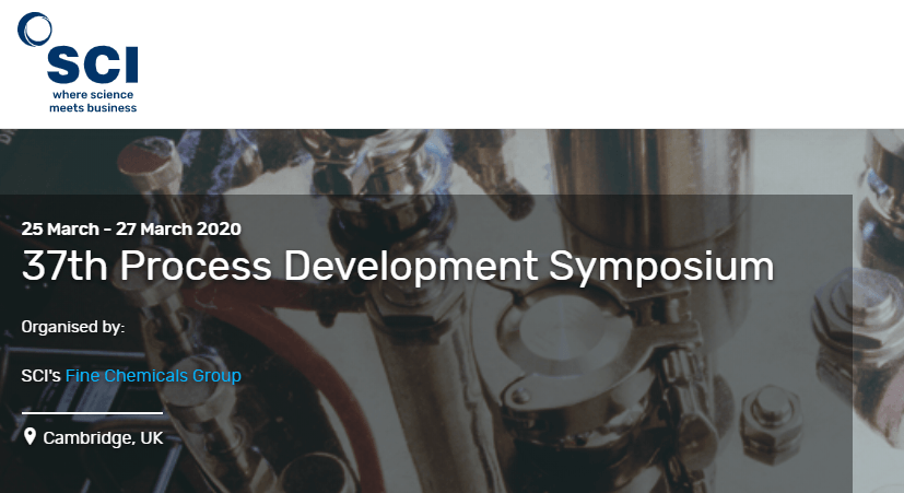 37th Process Development Symposium 2020
